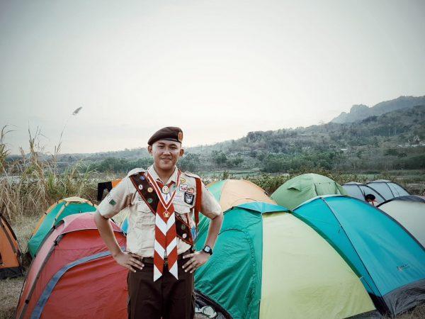Ketua Osis 2018/2019 Favian Bagus Abhyasa