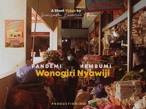 """Juara 3 Video Kreatif """"Pandemi Membumi,Wonogiri Nyawiji"""""""
